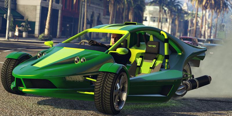 Imagen del nuevo coche de GTA BT Raptor