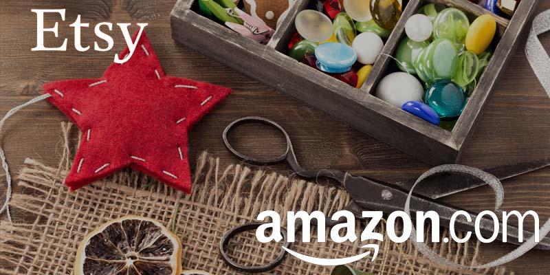 Etsy y Amazon a la caza del mercado handmade