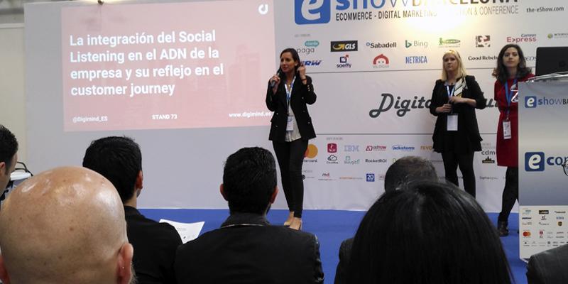 Conferencia en eShow sobre social listening