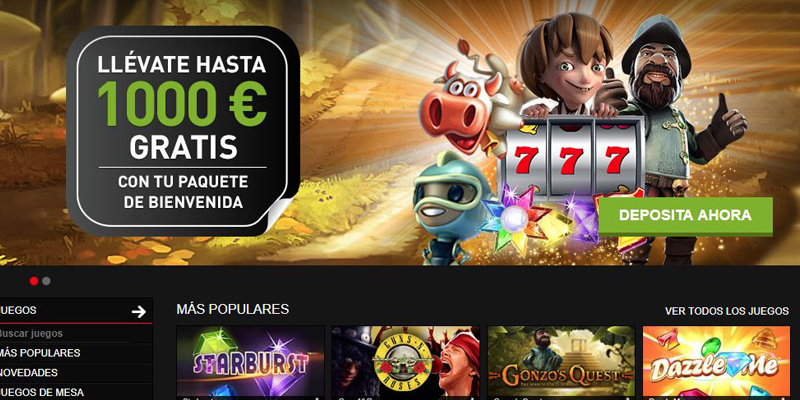 publicidad en los casinos online