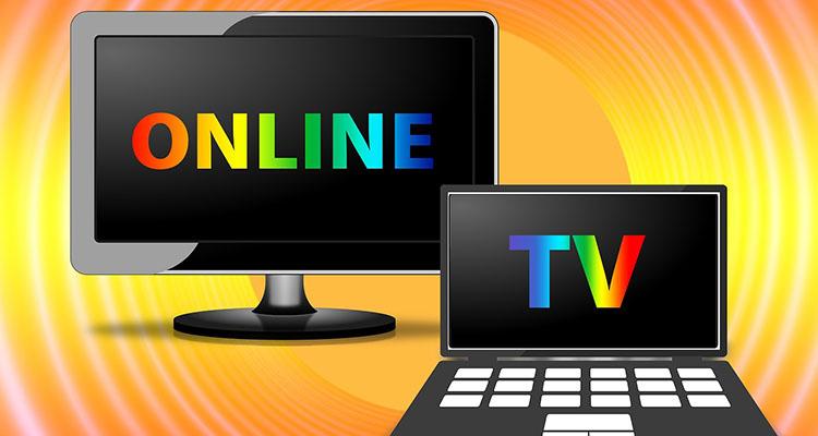 Representación gráfica de la televisión online